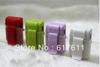 Wholesale!Newest Mini Sport Mirror clip MP3 Player 6 Colors Free shipping