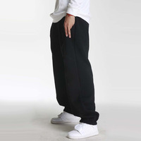 free shipping thick male hip hop hiphop jazz dancer bboy hiphop sports casual trousers  loose big fashion cool men