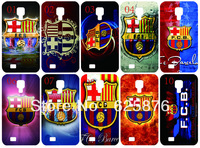 Free shipping !newest design FC Barcelona.ai case phone shell hard back cover for Samsung S4 I9500 10PCS/lot
