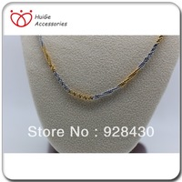 Two-color fashion necklace jewelry
