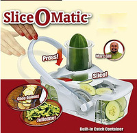 Free shipping Slice O Matic Fruits Vegetables Slicer Advanced Mandoline Knife Kitchen Tools,As seen on TV