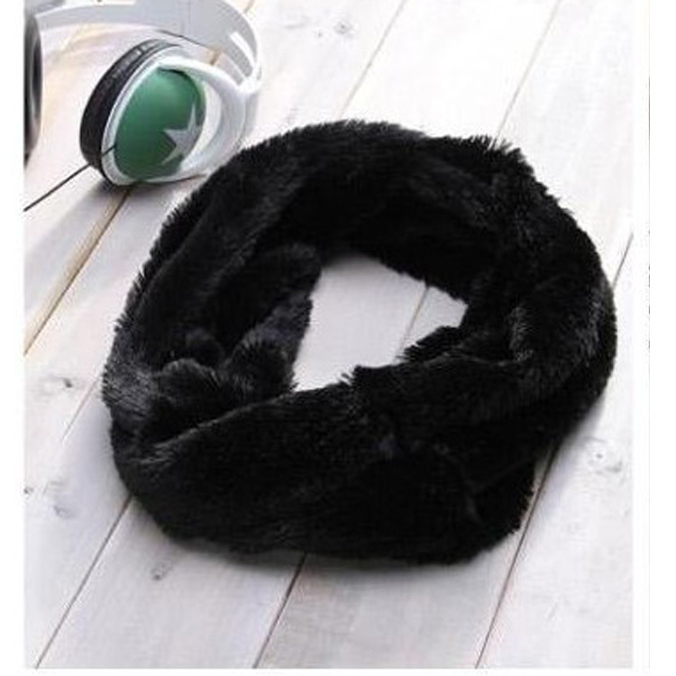 New 2013 Man Autumn-Winter Trendy Wild Scarf Men Casual Faux Rabbit Fur Warm Scarves & Neck Wraps 0017(China (Mainland))