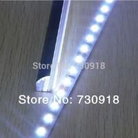 30pcs/lot aluminum profile led strip LED Rigid Strip 1M 5630 SMD 72 LED 12V Rigid Hard Strip Bar Light warranty 2 years CE RoHS
