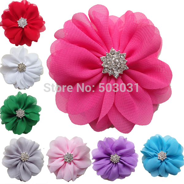 Hair accessories 20pcs/lot flat back DIY 3inch Ballerina flowers