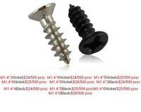 Free shipping Miniature cross countersunk head self-tapping screws. Flat head self tapping screws. KA. M1.4 * 3-M1.4 * 8