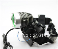 Fedex Free shipping 1800lm CREE batter 6000mAh T6 LED Bicycle Bike Headlight Lamp Flashlight Light Headlamp Outdoors