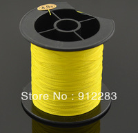 Free Shipping Yellow Spool Strong Braid Braided Fishing Fish Line 200M 0.32mm 22.6Kg #HW312D