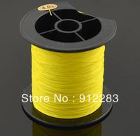 Free Shipping Yellow Spool Strong Braid Braided Fishing Fish Line 200M 0.32mm 22.6Kg #HW312D