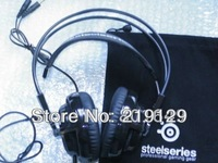 SteelSeries Siberia V2 Headset for Gamers and Audiophiles Headphone Black Free Shipping Drop Shipping 1PCS