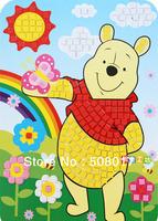2014 Fashion Cartoon Eva Stickers For Kids Crystal sticker Mosaic Sticker For kids birthday gift