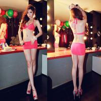 New arrival maillot de bain femme women bikini with skirt top bikinis push up bathing suit swim wear free shipping