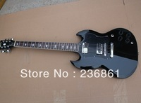 HOT Wholesale High Qualtiy Double Cut Way, Angus Young Signature SG 400 Black Electric Guitar