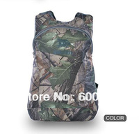 Outdoor protable Backpack camo waterproof foldable bag for hunting fishing sporting