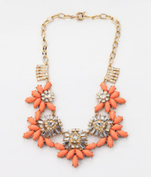 Free Shipping! new design fashion factory sale free shipping chunky fashion necklace for women necklace 2pc a lot