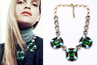 2014 Seconds Kill Direct Selling Trendy Women Free Shipping ! Big Size Fashion Style Chunky Necklace Jewelry with Bag 2pc A Lot