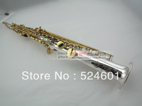 manufacturer Wholesale France Copy Henri selmer B soprano saxophone Super action 80 series II silver plating surface
