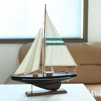 1 wool american sailing boat classic home decoration home decoration sailing boat beige canvas