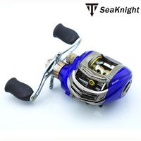 Trulinoya Brand Blue DW1000 Bait Casting Reels10+1BB Right Hand carp fishing gear Ratio 6.3:1 sea baitcasting fishing reel