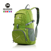 Brand Outdoor Folding Portable 35L Ultra-light Mountaineering Camping Hiking Travel Sports Bag Backpacking Double-shoulder Bag