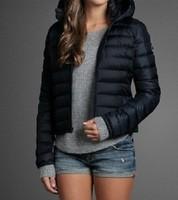 Free Shipping Warm Women's Brand Black Down Jackets Hoodies ,Ladies' Parkas Down Coats Jacket Winter Outwear 6 Color