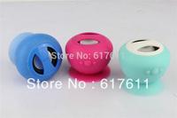 New bluetooth speaker Waterproof Magic Mushroom Silicone Sucker Stand Style Free Shipping