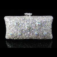 Fashion diamond strand space bag rhinestone bag bride evening bag