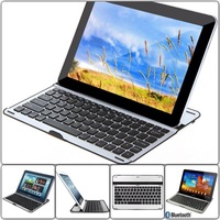 NEW Hot !! For Samsung Galaxy Tab 3 10.1 P5200 Aluminium Wireless Bluetooth Keyboard Case Free shipping