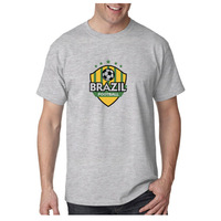 Brazil Football For 2014 World Cup Custom Printing T-shirt Wholasale And Retail