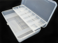 Available !! 021 Fishing Tackle Box Fly fishing Box spinner bait minnow Popper