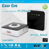 Black Easy Eye Portable Multifunction IP Camera Wireless CCTV System Remote Control/live View Free Shipping