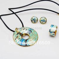 Boutique jewelry high quality artistic fashion enamel jewelry set