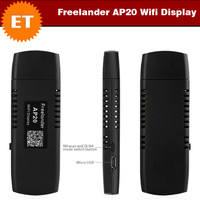 Freelander AP20 Miracast Wireless HDMI 1080p WiFi Display Dongle Stick PTV Support DLNA