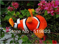 "Free Shipping Pixar Movie Finding Nemo 9"" Cute Clown Fish Stuffed Animal Retail"