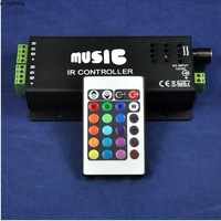 Sound Activated Controller Music Sound LED Controller for RGB LED Strip Light