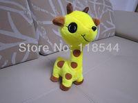 30cm yellow plush giraffe plush deer soft giraffe soft toys giraffe toy plush christmas gifts one piece  free shipping