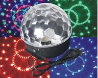 DMX-512 DJ Stage Lighting LED RGB Crystal Ball Party Show Rotating Bulb Lamp