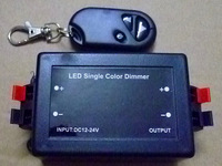 12V-24V 8A LED Wireless Dimmer RF Remote Controller for Led Strip Lamp Light