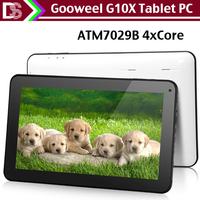 Gooweel G10X  ATM7029 Quad core Tablet pc 10inch  Android 4.2 OS 1GB RAM 16GB ROM HDMI WIFI camera Bluetooth OTG