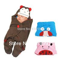 Baby Catoon Animal Shaped  Fleece Stroller Sleepsacks, Retail and Wholesale, Free shipping