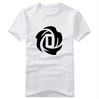 2014 summer new fashion Derrick Rose sports the basketball casual men plus size short sleeve t-shirt t shirt top tee