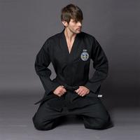 Lastfor1 black series adult itf tae kwon do full embroidery taekwondo myfi
