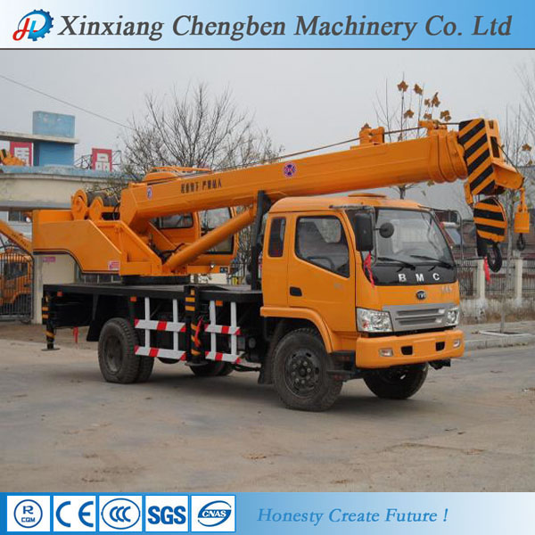 Durable 4 Boom Sections Used Crane Trucks for Sale(China (Mainland))