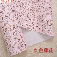 10m*45cm baby Pvc waterproof wallpaper child real wallpaper girls pink wallpaper  wall art