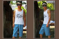 Free shipping Men 100% cotton coarse cotton pants at home pajama pants summer capris b738  Wholesale and retail