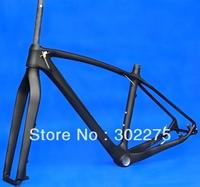 """FR-216  Full carbon UD Matt Matte Mountain Bike MTB 29"""" Wheel  BSA 29er frame included fork and headset"""