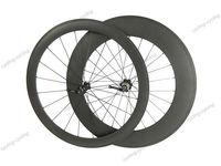 50mm front 88mm rear tubular carbon bicycle wheels 700c Carbon fiber road bike Racing wheelset