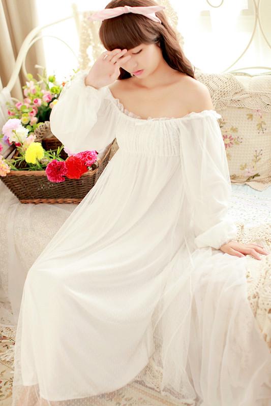 уточните женские ночные рубашки ретро точный