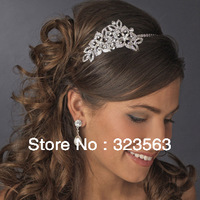 2014 Fashion crystal tiara, free shipping!