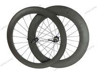 FREE SHIPPING 60mm front 88mm rear tubular bicycle wheels 700c Carbon fiber road bike wheelset
