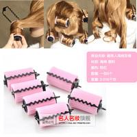 Sponge button card hair curlers hair sticks sponge hair roller Large 1.2